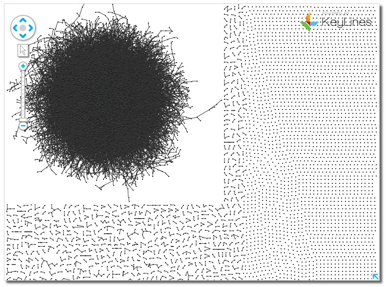network visualization hairball