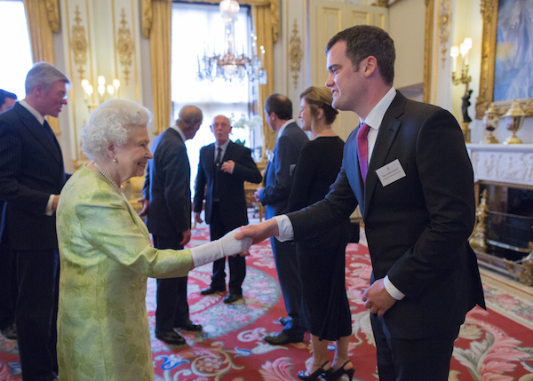 Andrew with queen - 600px