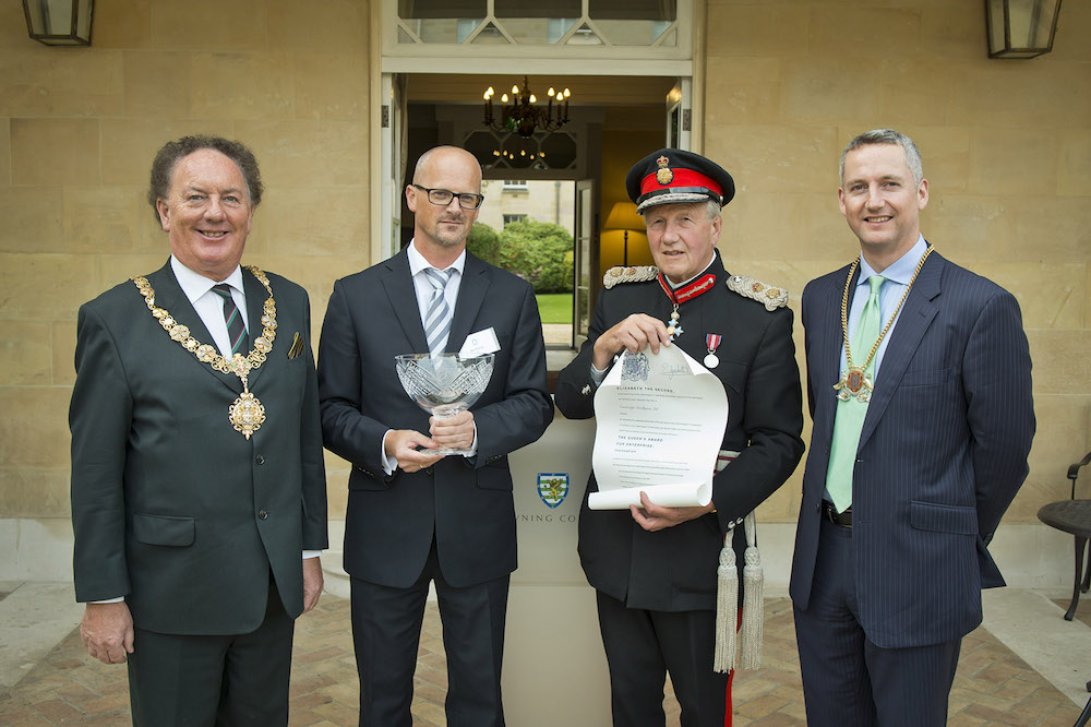 Queens Award Cambridge Intelligence