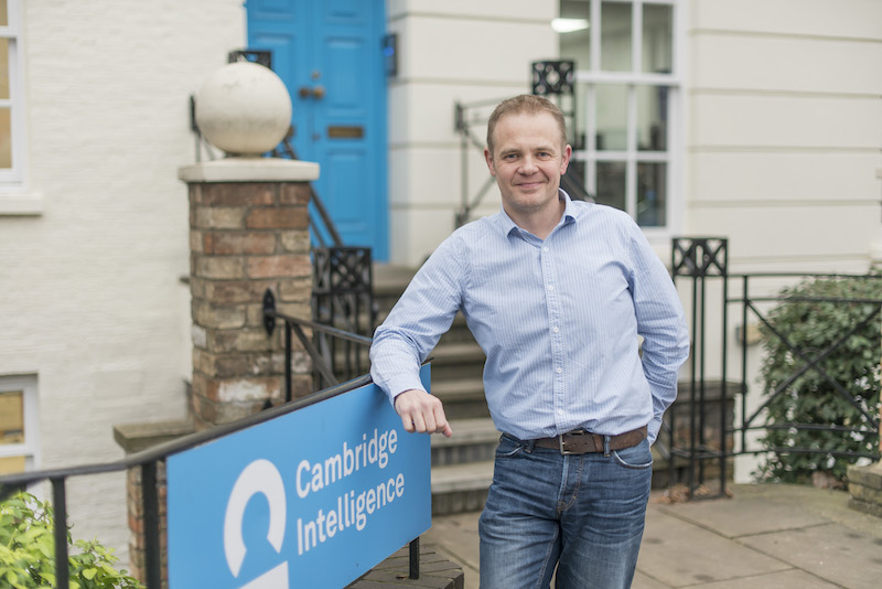 Bryan Amesbury, newly appointed COO at Cambridge Intelligence