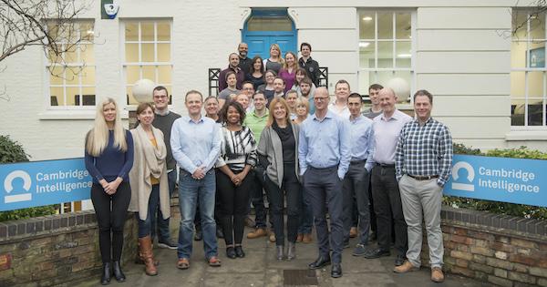 Meet the UK team at Cambridge Intelligence