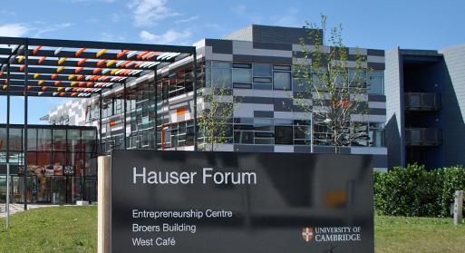 The Hauser Forum in Cambridge