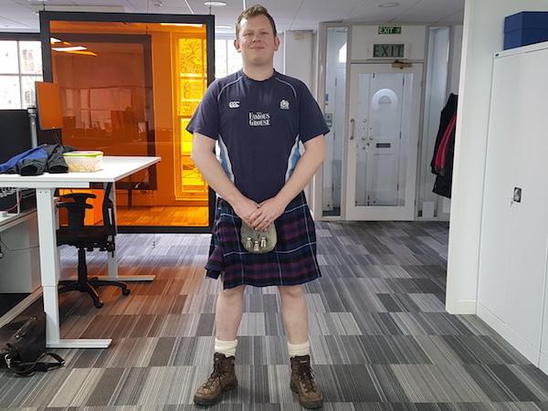 Scottish farewell lunch