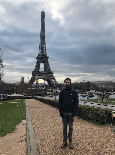 Warren found time for sightseeing while in Paris for DotJS