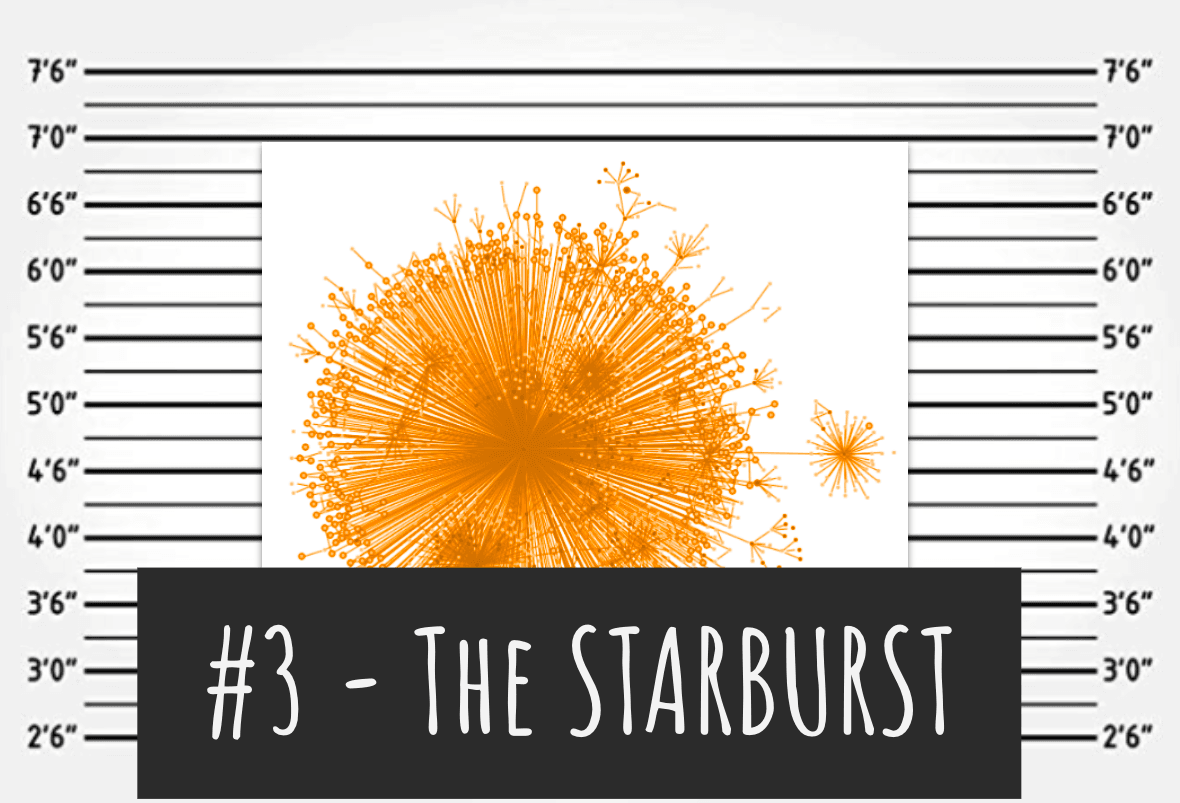 Usual suspect #3: it's hard to see past a starburst