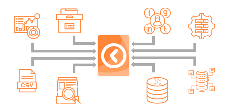 The wide variety of data types supported by KronoGraph