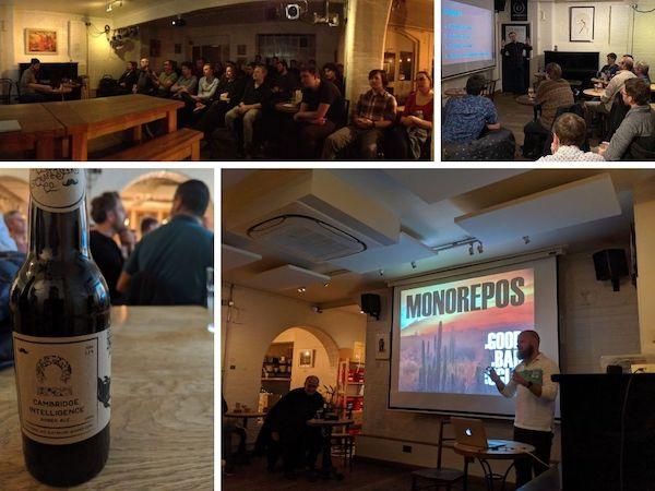 JavaScript & NodeJS Cambridge meetup group