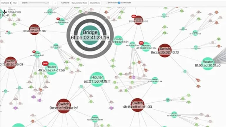 Building network mapping software with KeyLines and ArangoDB