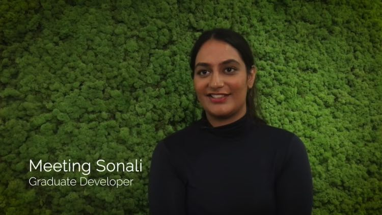 Sonali's experience on our graduate program